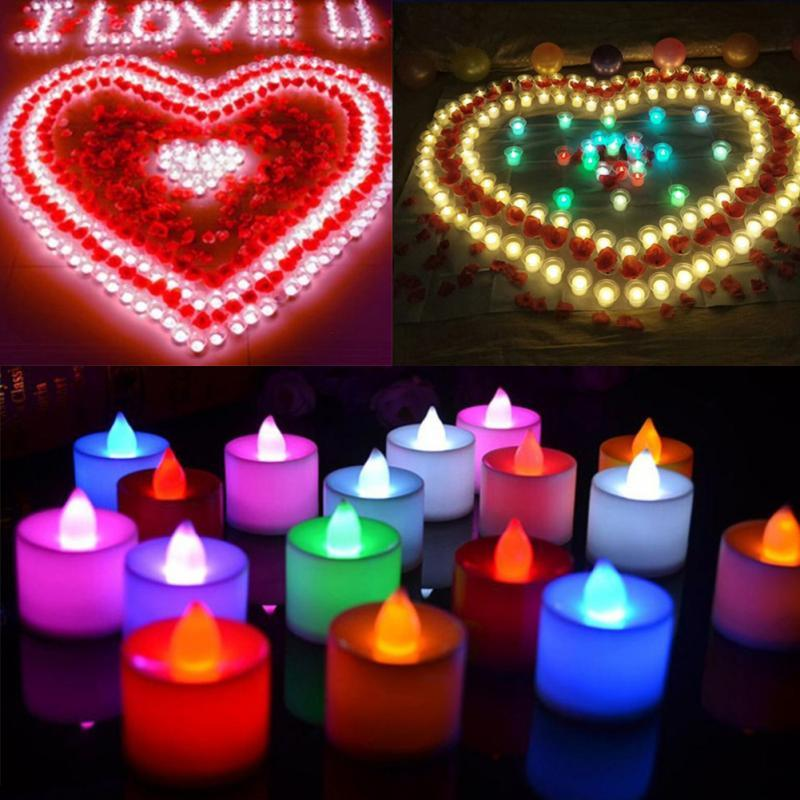 The candle LED lights