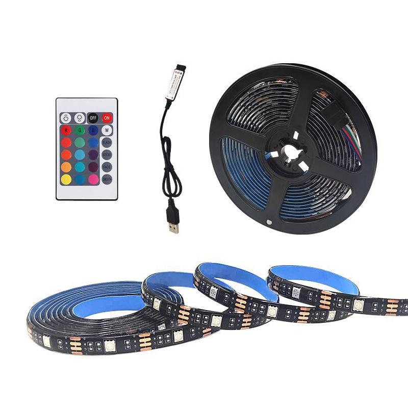 LED ribbon gift box decorative ribbon 24 key controller intelligent remot