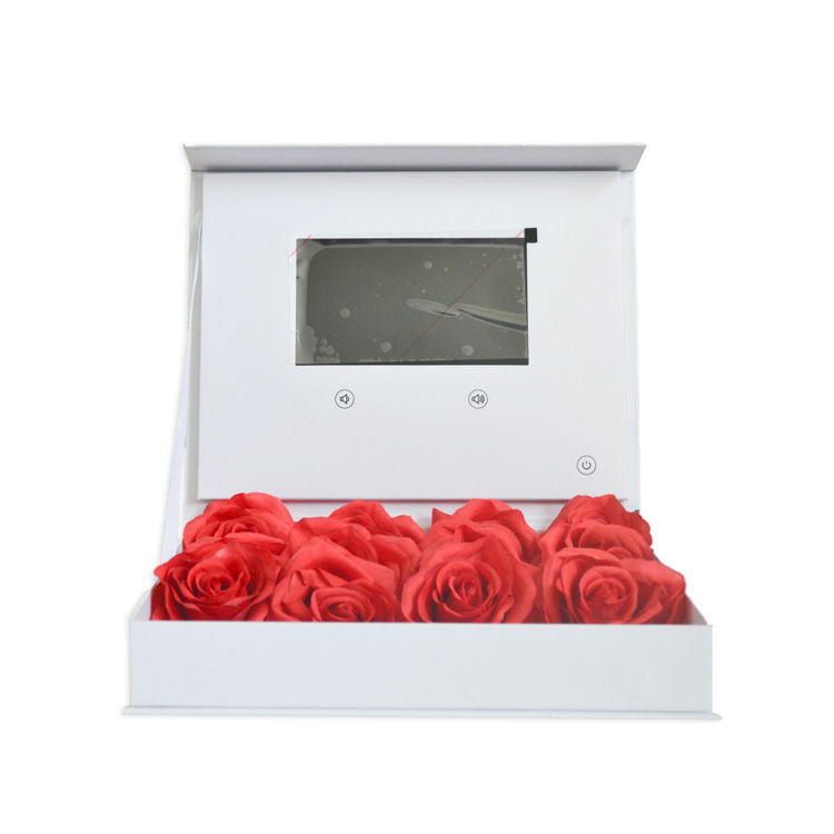 China factory newest design 4.3 inch gift with video lcd screen video brochure box