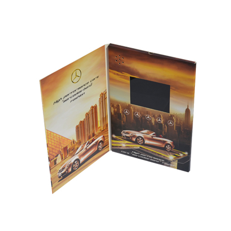 Factory creative custom promotional advertising gifts  printing to promotion video card