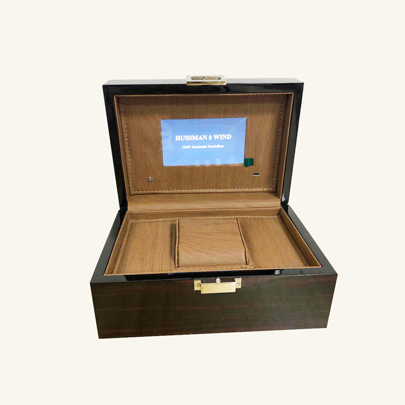 Video watch box gift box product promotion video box