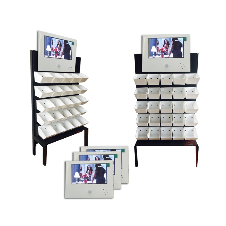 infrared induction human body induction video CARDS shelves advertising machine 10 inch video CARDS