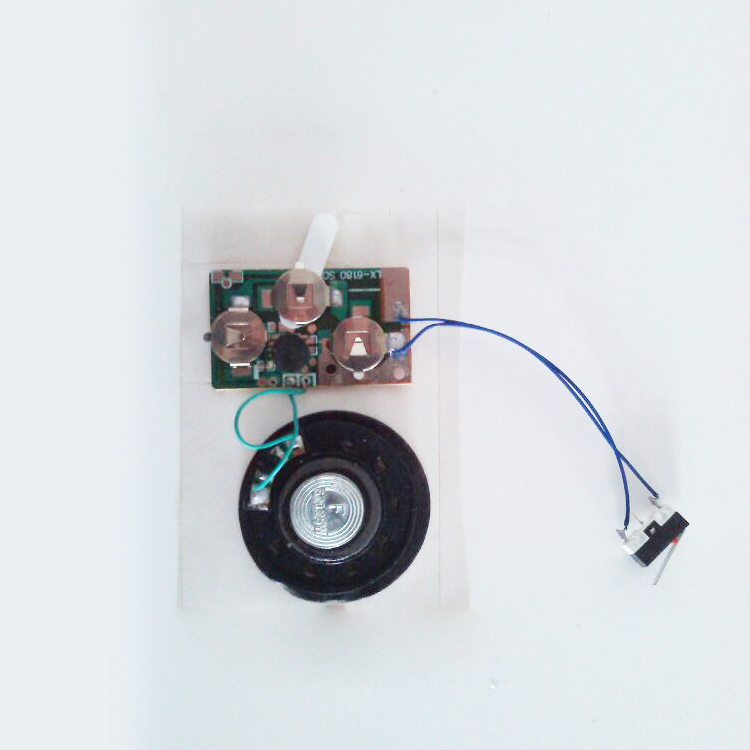 High quality greeting card voice sound module