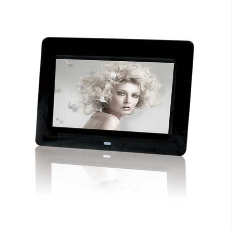 7 inch widescreen hd LED inductive digital electronic players with the human body