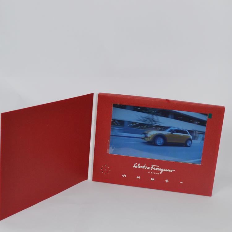 High definition 9 inch custom video business invitation card stopboris Choice Image