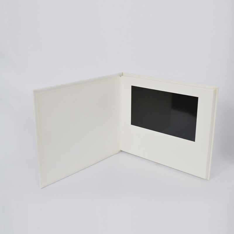 7 inch hardcover video Card delivers love and best wishes for the best gift Customized
