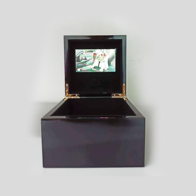 4.3-inch black video gift Box Holiday gift box handmade custom made